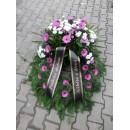 Smuteční věnec - živé květy 5.